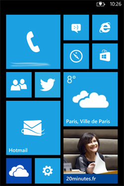 Interface Windows Phone